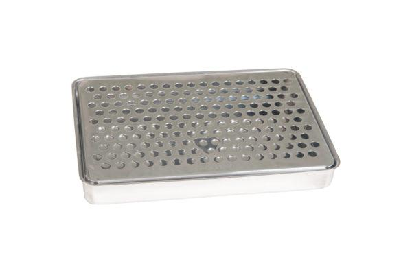 Drip Tray 15cm x 22cm - Stainless Steel