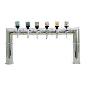 Draught Beer Tower 'Brooklyn' - 6 Tap