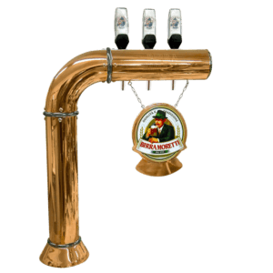 Draught Beer Tower 'Moretti Privilegio' - 3 way