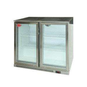 Snomaster 2 Door Undercounter Fridge