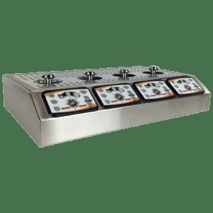 Bottoms Up 4 Tap Counter Top Dispenser