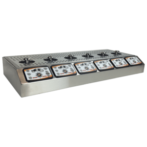 Bottoms Up 6 Tap Counter Top Dispenser