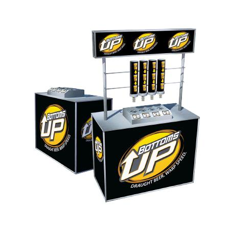 Bottoms Up Mobile Bar Unit (2 or 4 Tap)