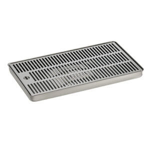 Drip Tray - 40cm X 22cm - Stainless Steel