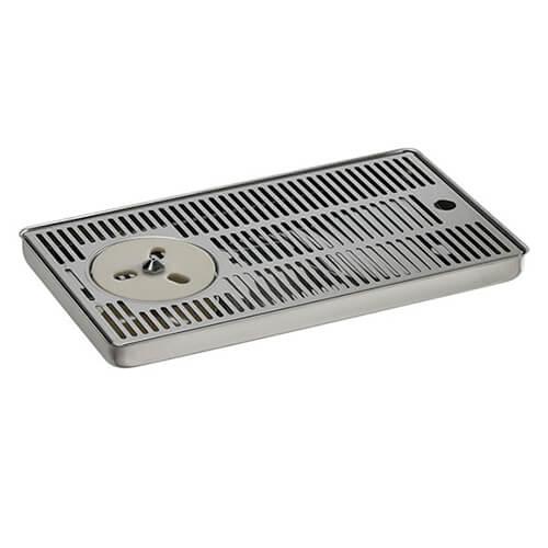 Drip Tray - 40cm x 22cm - Stainless Steel - Rinser