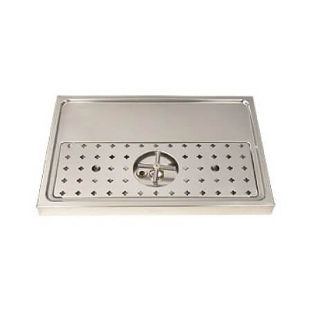 Drip Tray 60cm x 50cm - Stainless Steel - Rinser