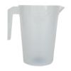 2 Litre Stackable Polycarbonate Plastic Pitcher Jug