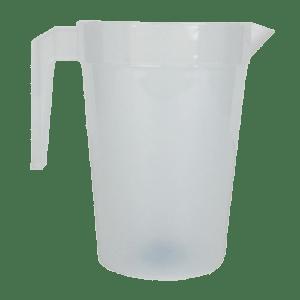 2 Litre Stackable Polycarbonate Plastic Pitcher Jug