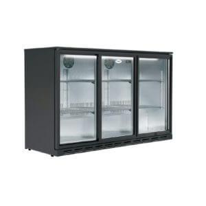 3 Door Undercounter Fridge 1350w
