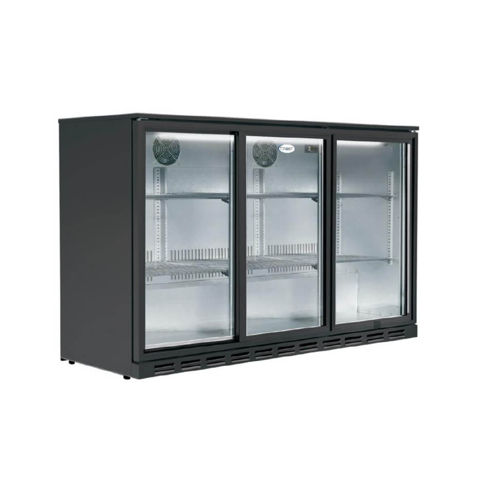 Description Snomaster 2 Door Undercounter Fridge